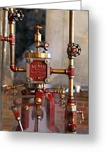 The Acme Steam Engine Greeting Card