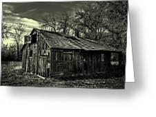The Adirondack Mountain Region Barn Greeting Card