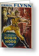 The Adventures Of Robin Hood  Greeting Card