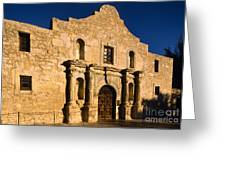 The Alamo Greeting Card