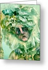The Alchemist Of Oz Greeting Card