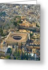 The Alhambra Aerial Greeting Card