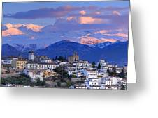 The Alhambra And Granada Greeting Card