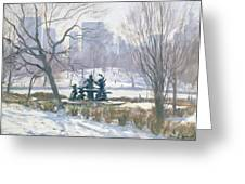 The Alice In Wonderland Statue, Central Park, New York Greeting Card