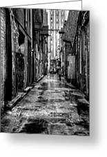 The Alleyway In Market Square - Knoxville Tennesse Greeting Card