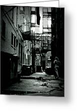 The Alleyway Greeting Card