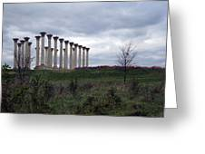 The Almost Forgotten Columns -- 2 Greeting Card