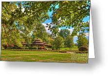 The Alumni Memorial Grove Towards Founders Hall Greeting Card