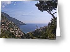 The Amalfi Coast Greeting Card