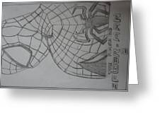 the amazing Spiderman 2 Greeting Card