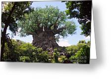 The Amazing Tree Of Life  Greeting Card