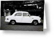 The Ambassador Car Greeting Card
