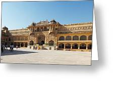 The Amber Fort Greeting Card