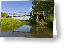 The Ambling River Greeting Card