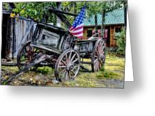 The American West Greeting Card