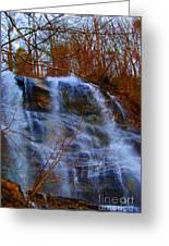 The Amicalola Waterfall Greeting Card