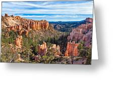 The Amphitheater At Farview Point Greeting Card