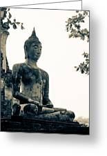 The Ancient City Of Ayutthaya Greeting Card