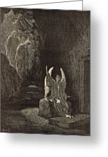 The Angel At The Sepulchre Greeting Card