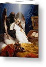 The Angel Of Death Greeting Card