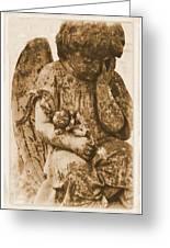 The Angel Virginia Greeting Card