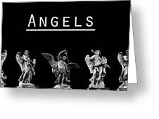 The Angels Of Rome Greeting Card