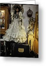 The Antique Doll Greeting Card