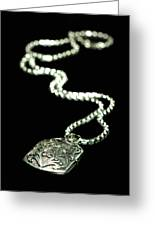 The Antique Locket Greeting Card