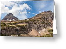 The Approach To Mount Reynolds Greeting Card