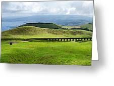 The Aqueduct Panoramic Greeting Card