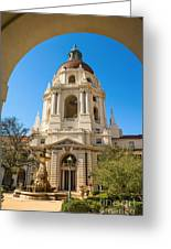 The Arch - Pasadena City Hall. Greeting Card