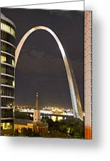The Arch And Cathedral Greeting Card