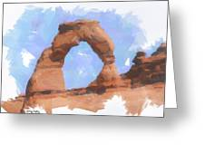 The Arch Greeting Card