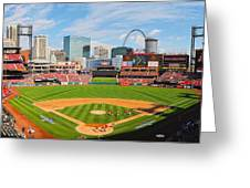 The Arch In The Outfield Greeting Card