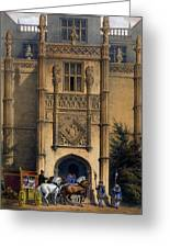 The Arch, Montacute House, Somerset Greeting Card