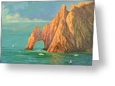 The Arch Of Cabo San Lucas 2 Greeting Card
