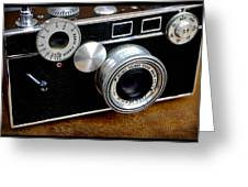 The Argus C3 Lunchbox Camera Greeting Card