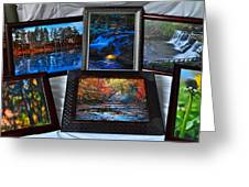 The Art Collector Greeting Card by Frozen in Time Fine Art Photography