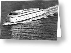 The Art Deco Ferry Kalakala Greeting Card