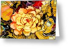 The Art Garden Greeting Card by Hilda Lechuga