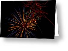 The Art Of Fireworks  Greeting Card