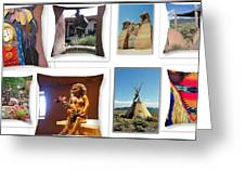 The Art Of New Mexico Greeting Card