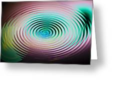 The Art Of Ripples Greeting Card