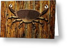 The Art Of The Crab Greeting Card