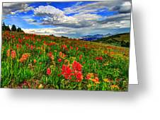 The Art Of Wildflowers Greeting Card