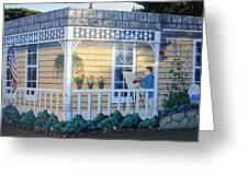 The Artists Cottage Greeting Card