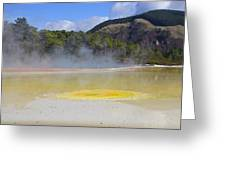 The Artist's Palette Wai 0 Tapu Greeting Card