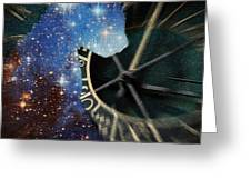 The Astronomer's Cat Greeting Card