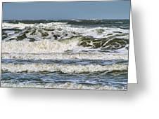 The Atlantic Ocean At Sullivan's Island Greeting Card