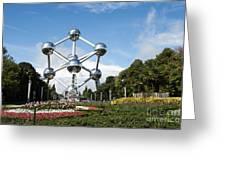 The Atomium Greeting Card